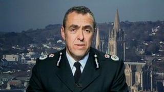 Acting Chief Constable Shaun Sawyer