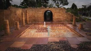 The Discover Jordan Garden at the 2012 RHS Hampton Court Palace Flower Show