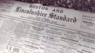 First edition of Boston Standard