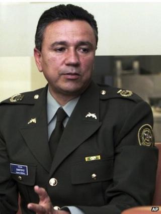 Gen Mauricio Santoyo in a November 2007 file photo