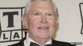 Andy Griffith in 7 March 2004 photograph