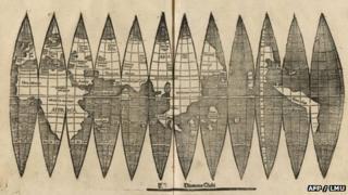 Waldseemueller's map