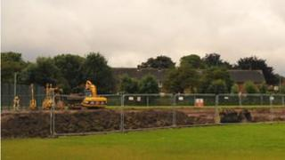 The site at Wilberforce College