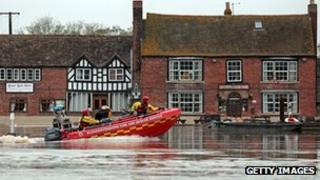 Flooding in Tewkesbury (file pic)