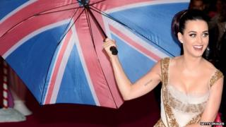 """Katy Perry attends the European Premiere of """"Katy Perry Part Of Me"""" at Empire Leicester Square in London"""