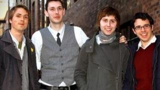 The Inbetweeners: Joe Thomas, Blake Harrison, James Buckley and Simon Bird