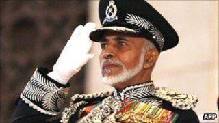 Sultan Qaboos has been in power since 1970