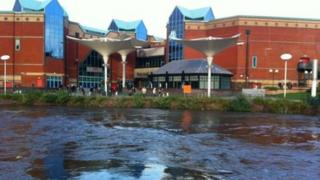 The River Don at Meadowhall