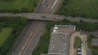 The affected part of the M4