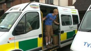 Student's ambulances
