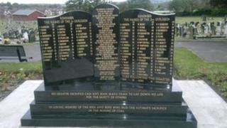 Memorial at Denaby Cemetery