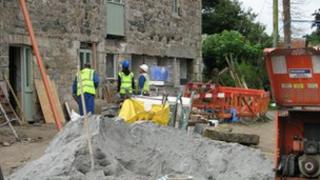Work begins at Ruthvoes near Indian Queens