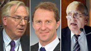 Lord Sutherland, Matt Qvortrup and Ron Gould