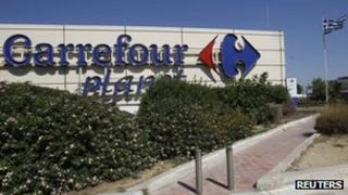 A Carrefour supermarket