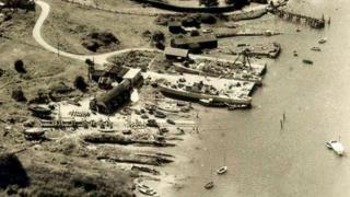 Buckler's Hard during WWII