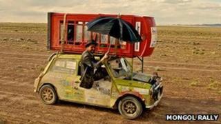 Mongol Rally 2008
