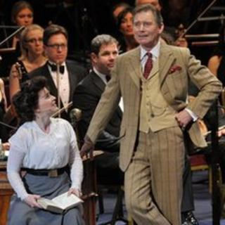 Annalene Beechey and Anthony Andrews at the My Fair Lady Prom. © BBC/Chris Christodoulou