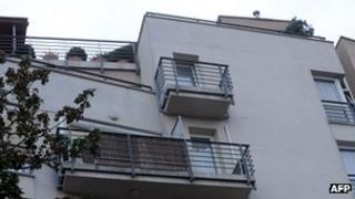 Apartment block in Budapest allegedly where Laszlo Csatary lives