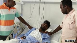 Muthu Muniraj recovers in hospital in Dubai