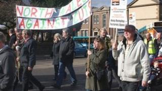 Wrexham Remploy rally