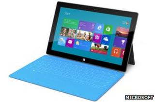 Windows 8 on Surface tablet