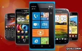 Smartphones using Snapdragon chips