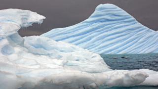 An iceberg in Antarctica