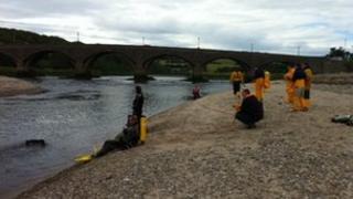 The teenager was last seen near the Banff bridge