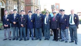 Veterans and British Legion members
