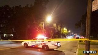 Canadian police car