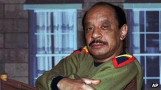 1986 file photo of actor Sherman Hemsley
