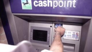Lloyds TSB cashpoint