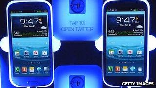 Samsung Galaxy S3 smartphones
