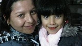 Susana Marquez and daughter Lourdes