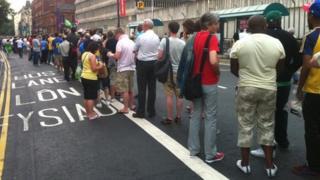 Ticket queue