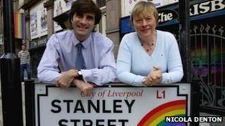 Zoran Blackie and Angela Eagle MP