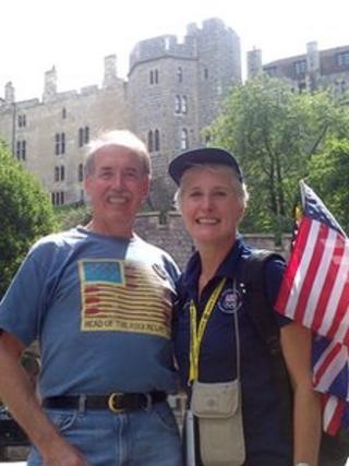 Randall Wilson and Julia Martinusen from Des Moines in Iowa