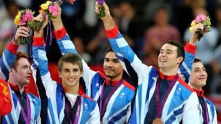 GB men's gymnastics team
