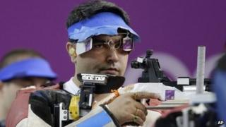 Gagan Narang at Olympics