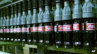 Coca-Cola bottling plant