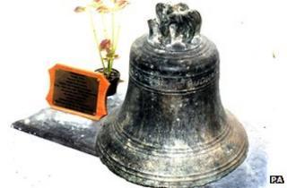 Stolen bell