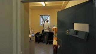 Prison cell at Wormwood Scrubs