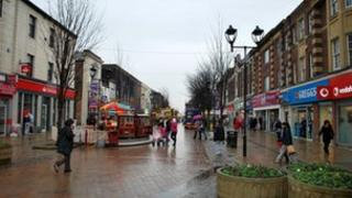 Rotherham town centre