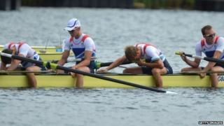 Men's GB rowing