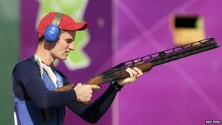 Peter Wilson wins Great Britain's fourth gold medal of London 2012 with victory in the double trap