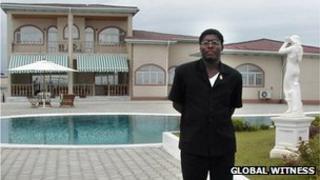 Teodorin Nguema Obiang Mangue, son of Teodoro Obiang Nguema Mbasogo, the president of Equatorial Guinea.