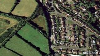 Beacon Road area of Bodmin