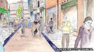 Artist's impression of Silver Street