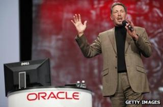 Larry Ellison, Oracle chief executive