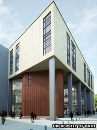 Artist's impression of the new teaching accommodation